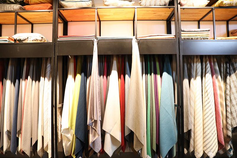 Showroom Fabric Samples