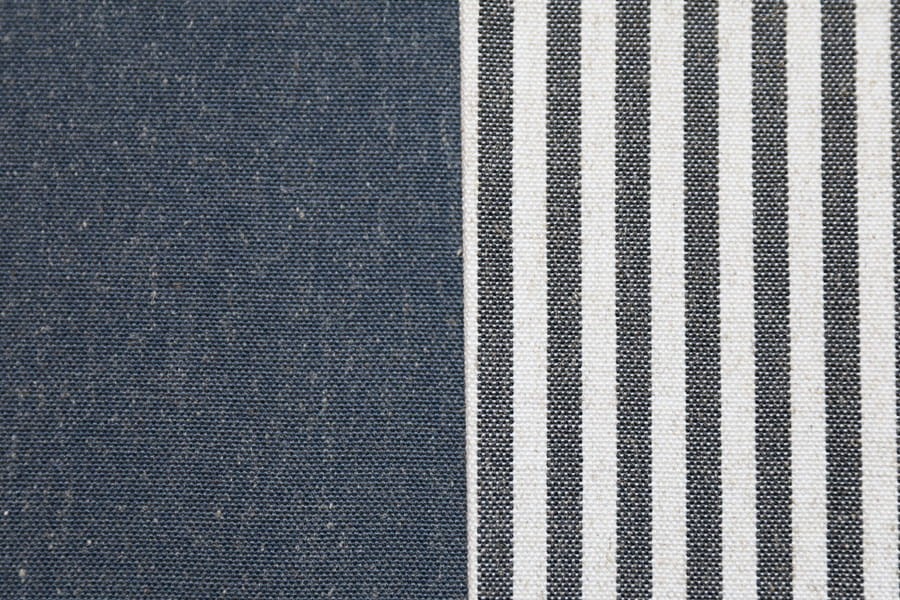 Linen Polyester Sofa Fabric Plain Upholstery Fabric Yarn-Dyed Woven Decorative Fabric