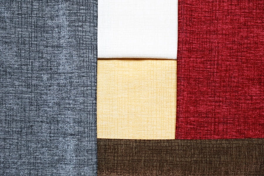 Viscose Alike Chenille Curtain Fabric Polyster Plain Upholstery Fabric Piece-Dyed Decorative Fabric