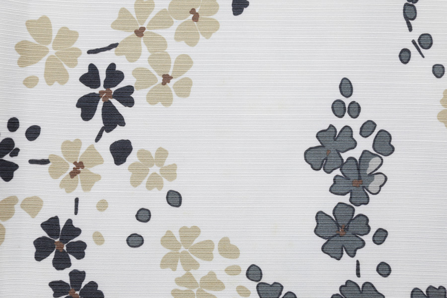 Bucolic Style Table Cloth Polyester Upholstery Fabric Clean Printing Decorative Fabric