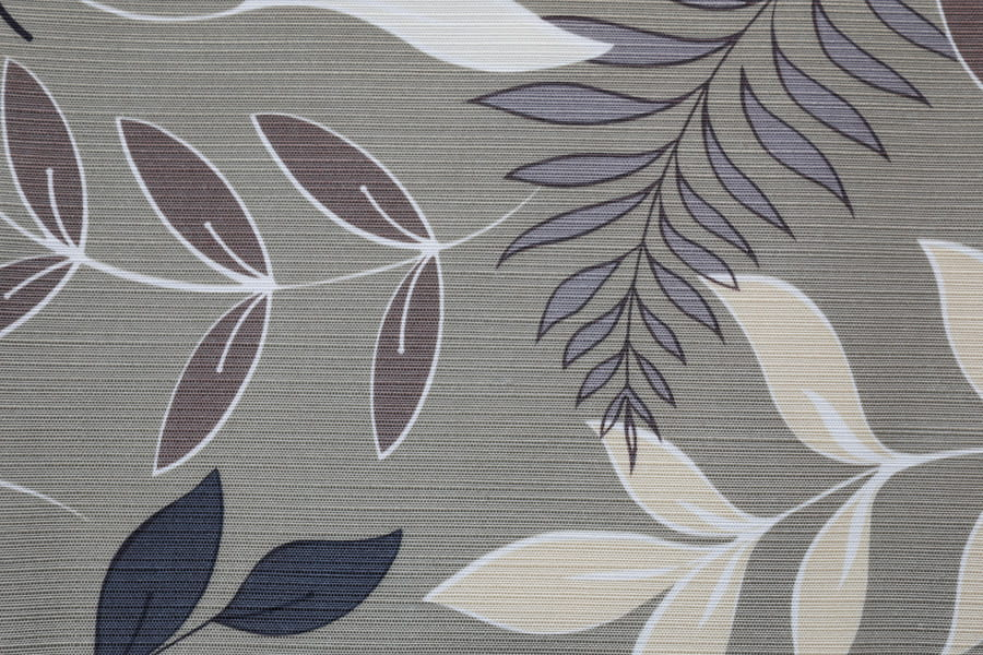 Leaf Design Table Cloth Polyester Upholstery Fabric Clean Printing Decorative Fabric
