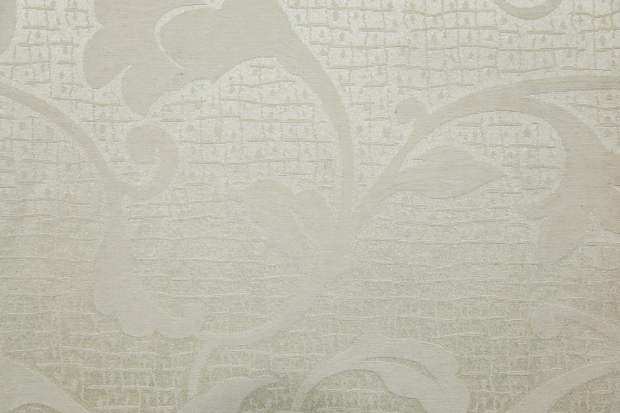 Morning Glory Design Jacquard Table Cloth  Polyester Upholstery Fabric Piece-Dyed Soft Hand Feeling Decorative Fabric