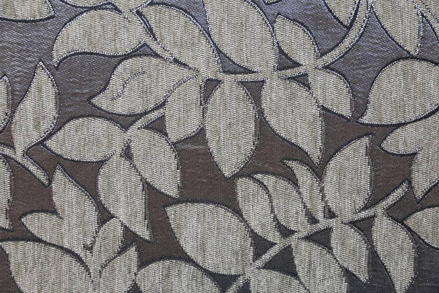 Acrylic Polyester Jacquard Carpet Fabric Shine Background Style Upholstery Fabric Yarn-Dyed Thick Decorative Fabric